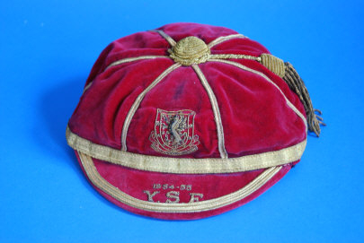 Wales International Football Cap v Yugoslavia, Scotland & England 1954-55